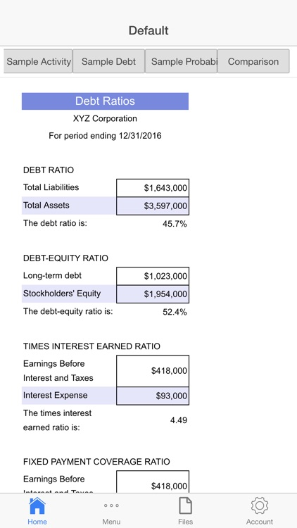 Financial Analysis screenshot-4
