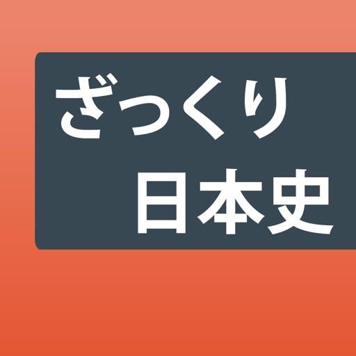 日本史ざっくり暗記!「重要用語と年号」四択学習アプリ