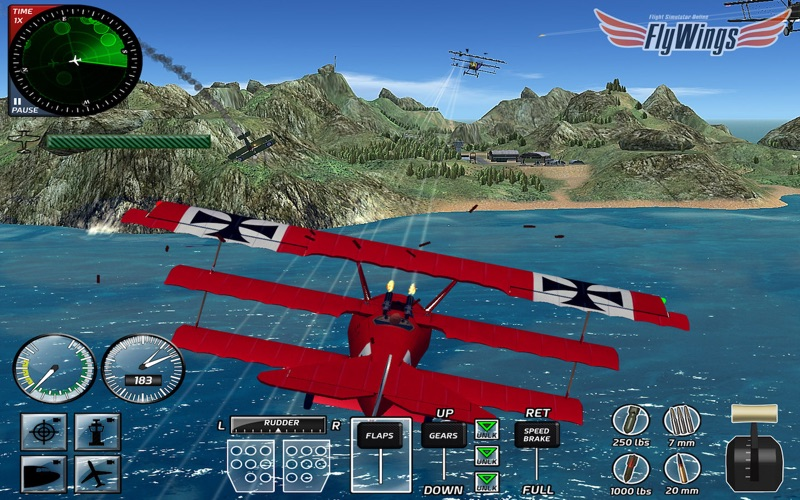 Combat Flight Simulator 2016 Screenshot