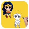 How to Draw Super Heroes Cute and Easy