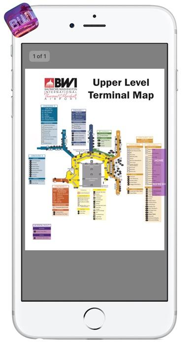 BWI AIRPORT - Realtime, Map, More - BALTIMORE-WASHINGTON ...