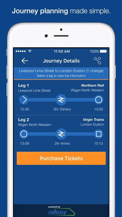 myTrains Pro train times and tickets screenshot-3