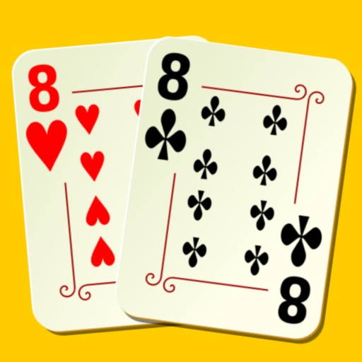 Crazy Eights Free - for iPhone and iPad