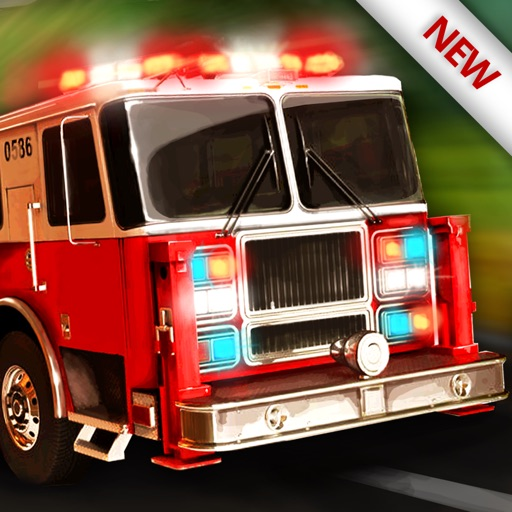 119 消防卡車模擬器 3D - 消防員值班