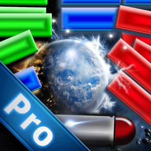 A War Word Bricks Pro - Ball Blast Action Breaker Game