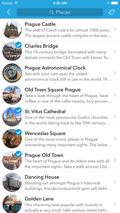 Screenshot of Pianificatore, guida di viaggio e mappa offline per Repubblica Ceca, Slovacchia, Polonia, Ungheria, Russia e Romania3