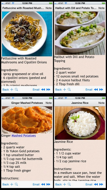 GERD Acid Reflux Diet Recipes Plus+ screenshot-1
