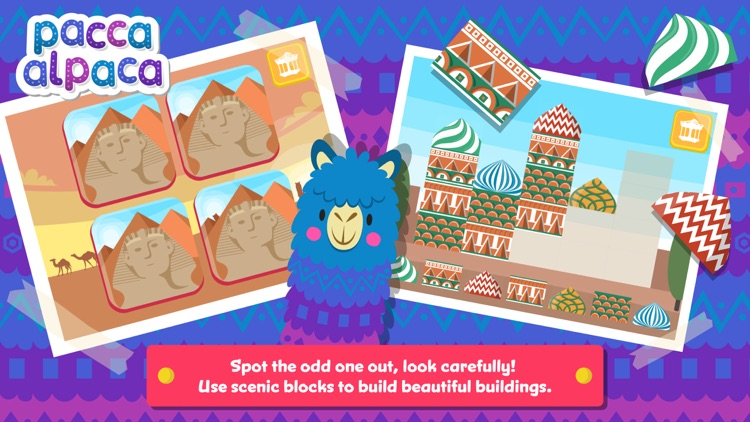 Pacca Alpaca Travel Playtime screenshot-3