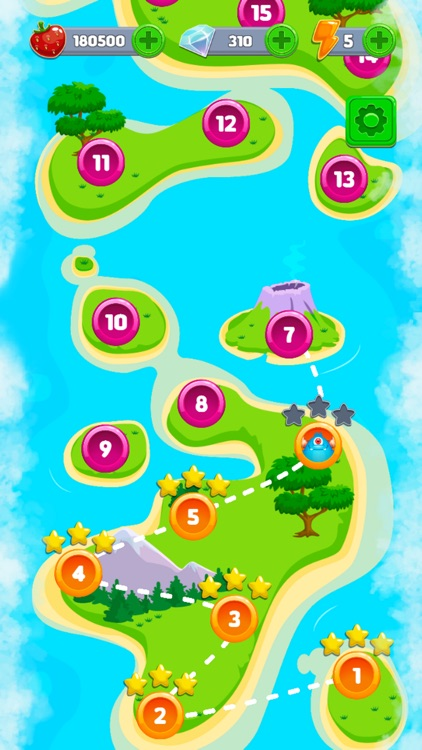 Bubble Shooter: Monster Quest screenshot-4