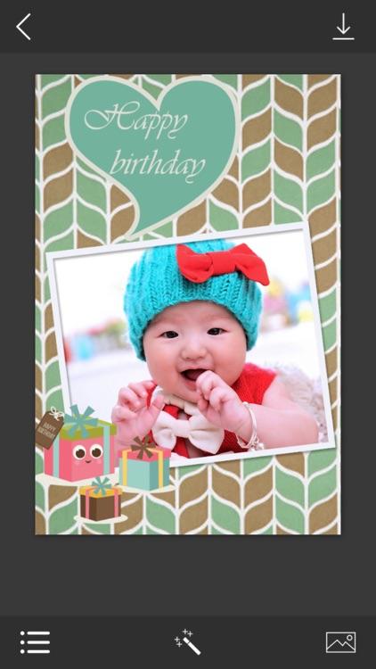 Birthday Photo Frame - Photo frame editor