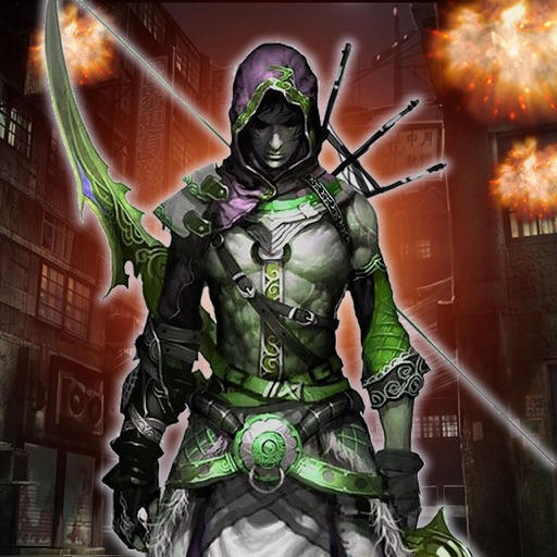 A Mission Archer In The Building-Game Launch Arrow