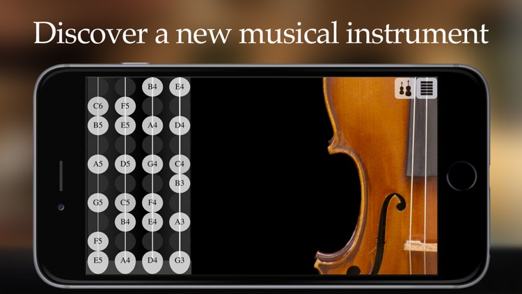 FingerFiddle - Play music like on a real violin screenshot-0