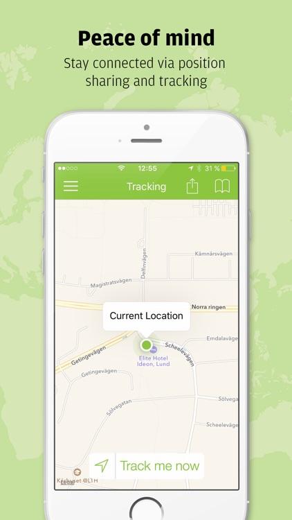 Safeture - Travel safe with smart security screenshot-3