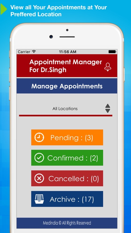 Appointment Manager for Doctors