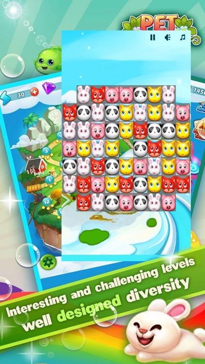 Pet Link Star: Match 3 Game