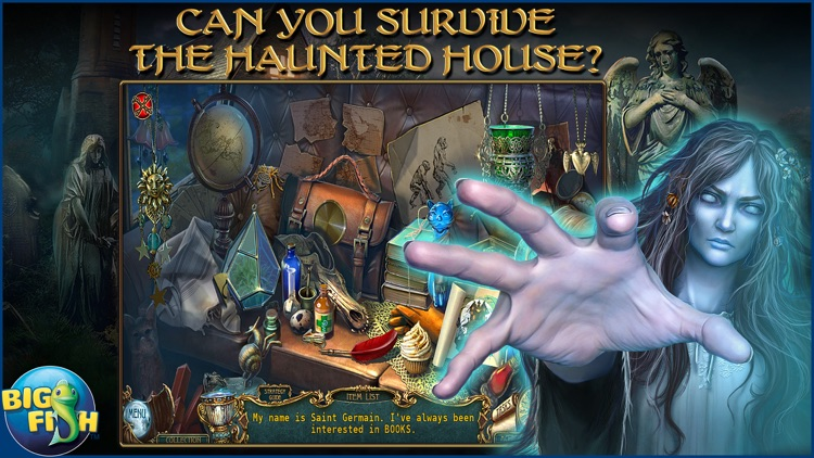 Haunted Legends: The Secret of Life - A Mystery Hidden Object Game (Full) screenshot-1