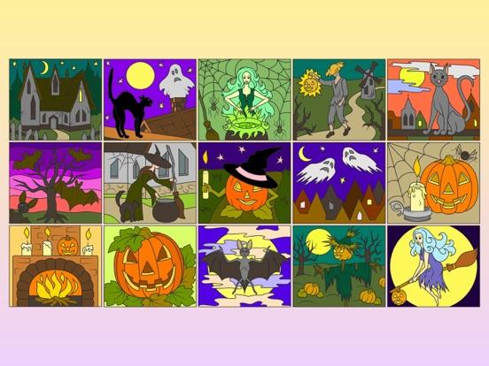 Раскраска Хэллоуин + на iPad