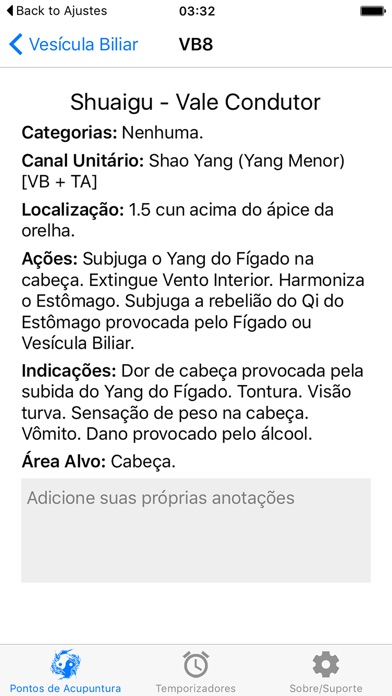 Screenshot for Acupuncture Assistant in Portugal App Store