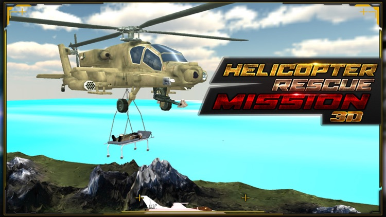 Military Helicopter Pilot Wars Rescue 3D Simulator screenshot-4