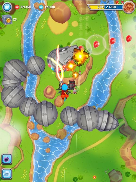 Bloons Supermonkey 2 iPad app afbeelding 2