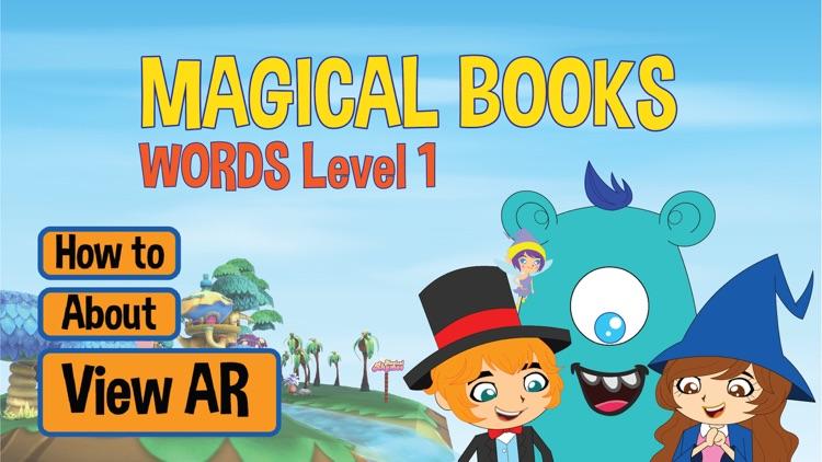 Magical Books Words Level 1 screenshot-3