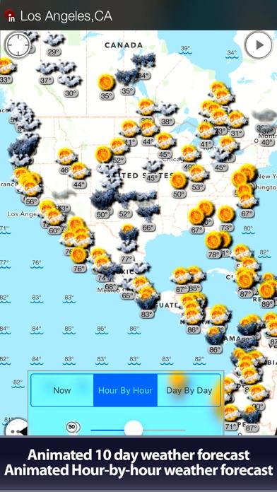 World Weather Map Hd review screenshots