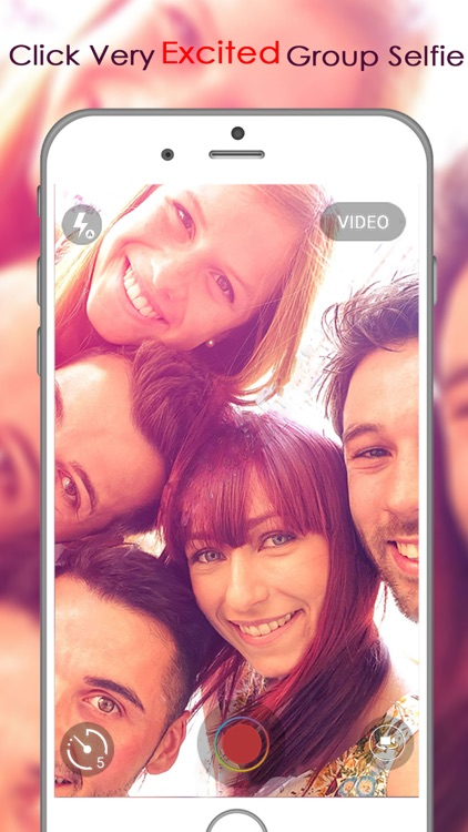 Selfie Shot : gif maker and video maker with best filters, effects and countdown timer selfie