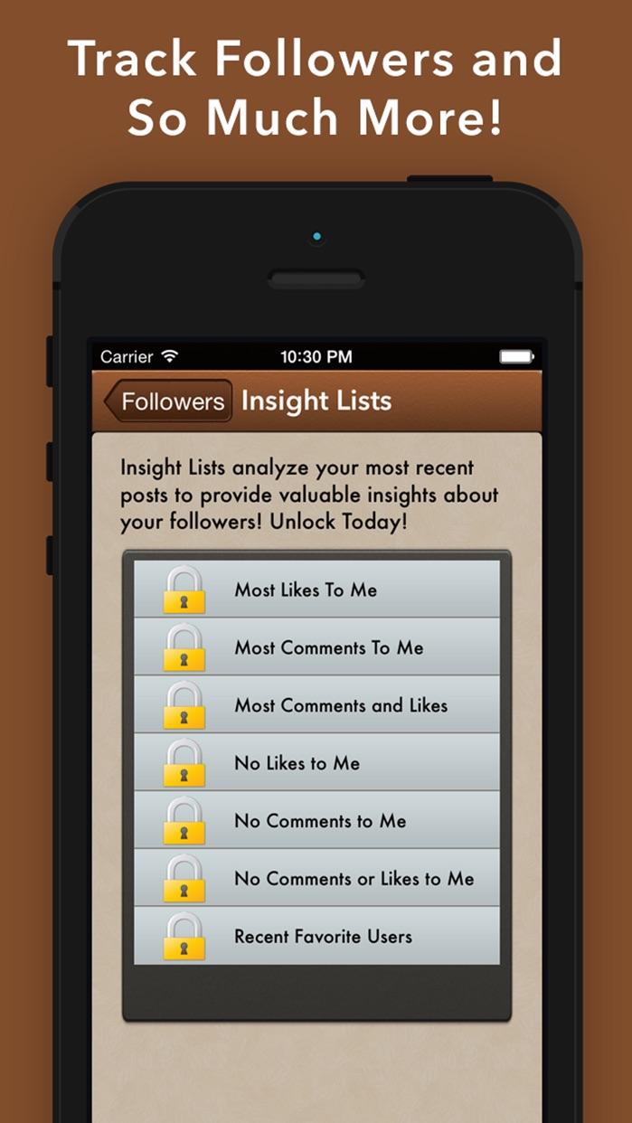 UnFollowers for Instagram -IG Followers on Tracker Screenshot
