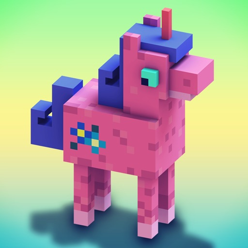 Unicorn craft crafting building game for girls by tiny for Crafting and building app store