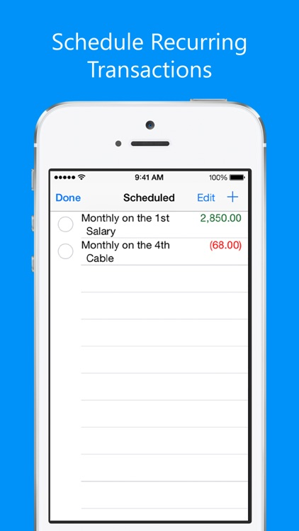 Balance My Checkbook, Check Register With Sync screenshot-4