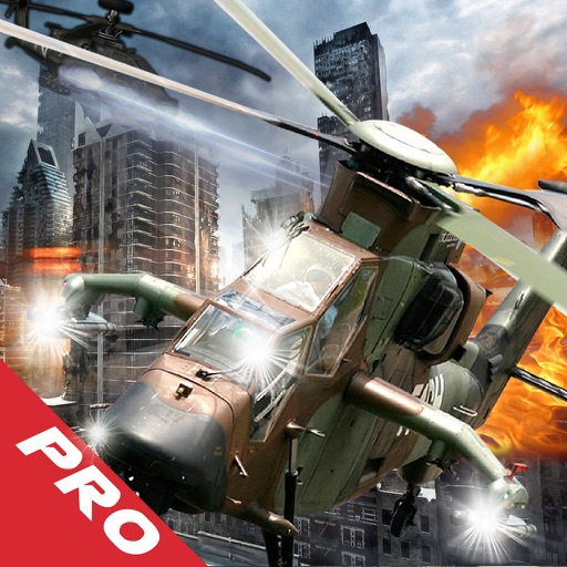 Give Chase In Flight Copter Pro - Adrenaline Air Driving Game icon