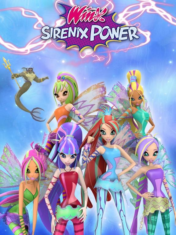 Winx Club Winx Sirenix Power App Voor Iphone Ipad En Ipod Touch