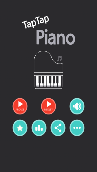 TapTap Piano - Don't tap the white tile