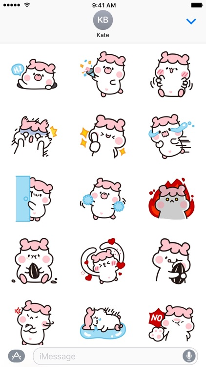 Hamster DORA − NHH Stickers screenshot-2