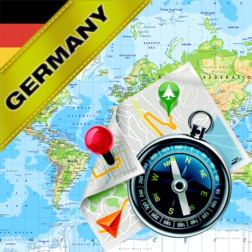 Germany - Offline Map & GPS Navigator