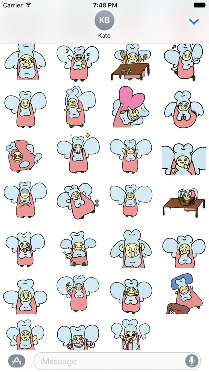 EYO the Toothfairy Sticker Pack screenshot-2