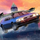 Flying Sport Car Simulator 3D - Fly a futuristic super car! icon