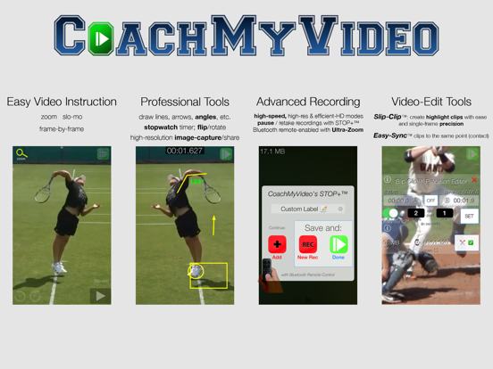 CMV Pro: Frame-Frame Video Analysis - CoachMyVideo