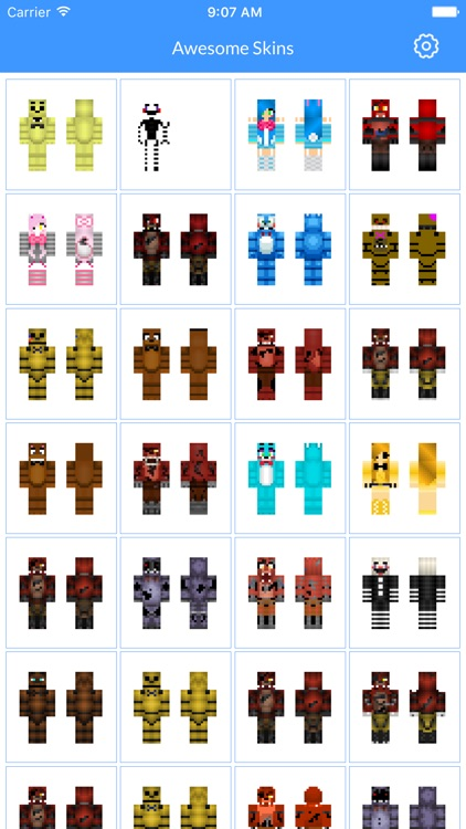 Skins for FNAF Edition - Best FNAF Skins available For Minecraft PE screenshot-0