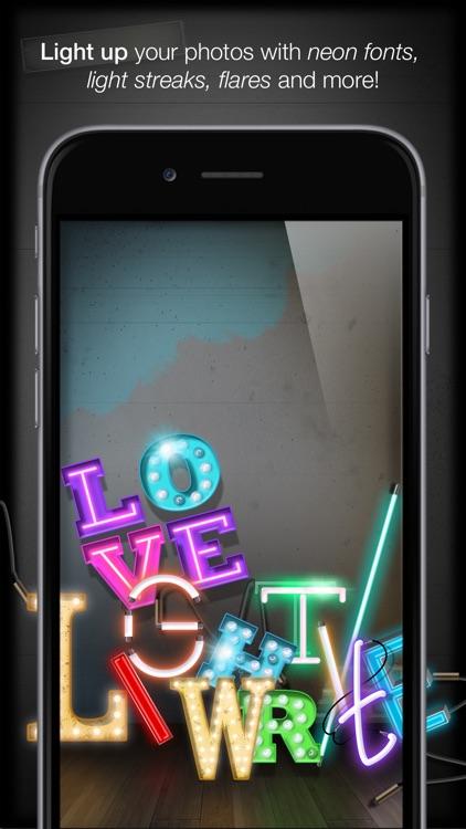 Insta Neon™ Pro Light FX Photo Editor