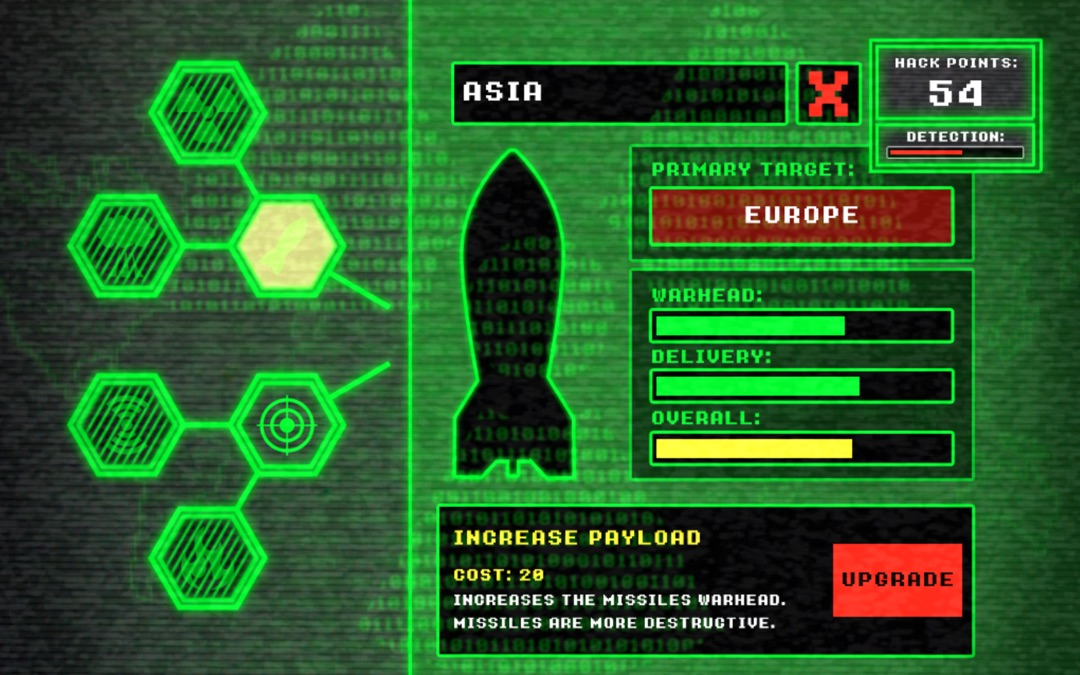Nuclear Hack INC  - War Simulator - Online Game Hack and