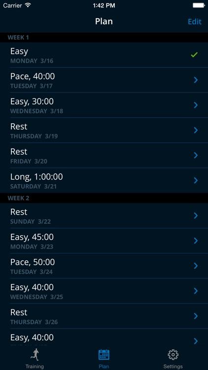 MapMyRun Trainer - 5k, 10k, Marathon, Half Marathon Training Plans
