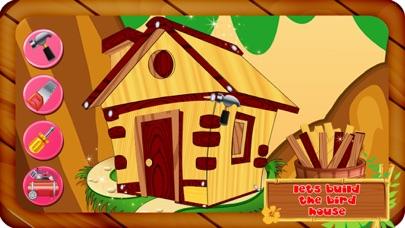 鳥の家を建てる - 小さなペット動物のための木の家を作る&それを飾ります紹介画像3