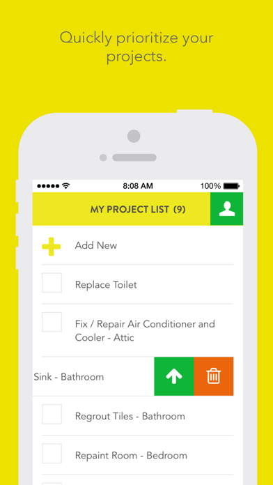 Feather. A smarter place for all of your home projects. screenshot three