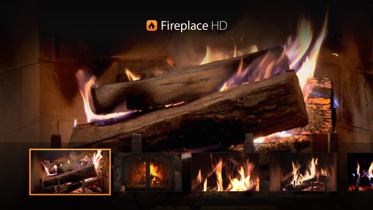 Fireplace HD TV