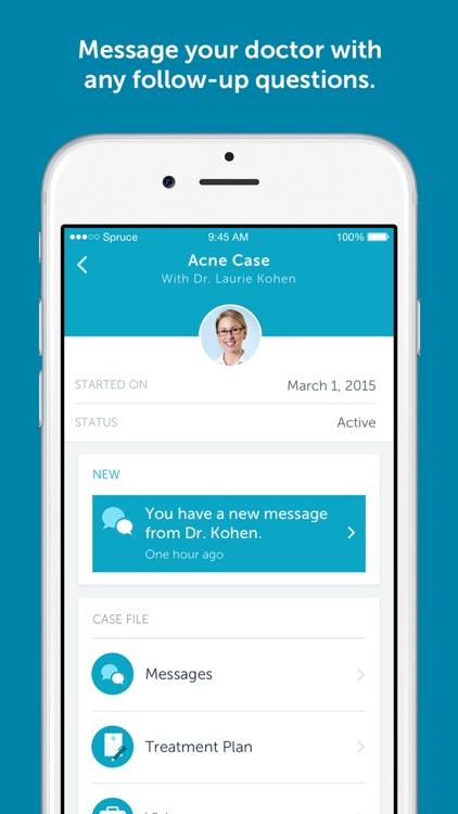 Spruce - your online dermatologist screenshot-4