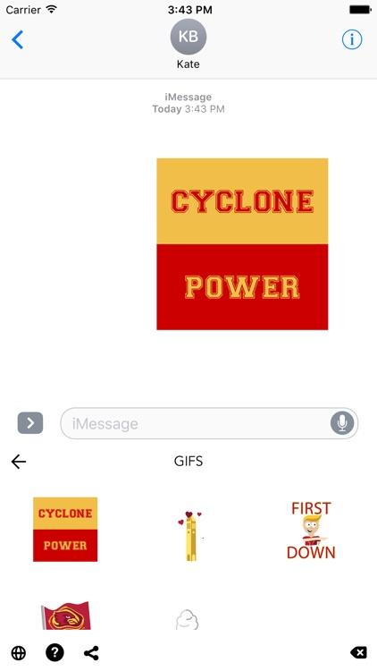 Iowa State Emojis screenshot-3