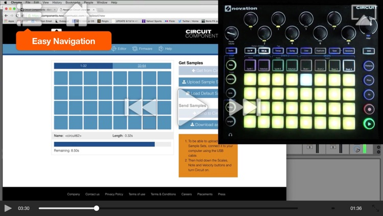 Adv. Course For Novation Circuit screenshot-3