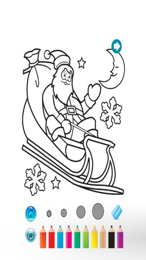 A Christmas Coloring Book Decorate Tree Lights Paint Maker On The App Store