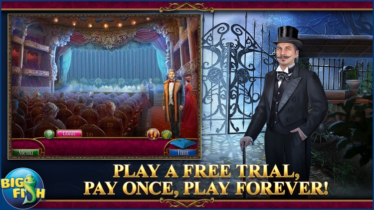 Danse Macabre: Lethal Letters - A Mystery Hidden Object Game screenshot-0